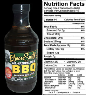 Mild Gourmet BBQ Sauce by Elmore Smith