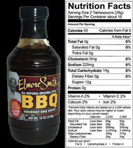 Elmore Smith Original BBQ 18 oz.