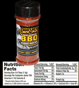 Spicy Gourmet BBQ Rub by Elmore Smith