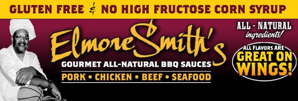Elmore Smith's Gourmet BBQ Sauce