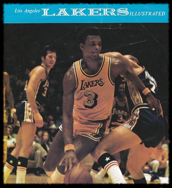 Elmore with the Lakers 1974